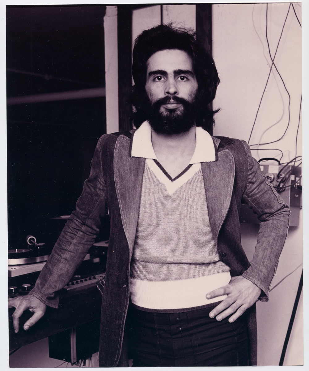 David Mancuso inside the Prince Street Loft. Courtesy of Matthew Marks Gallery. Photography by Peter Hujar. Copyright Estate of Peter Hujar.