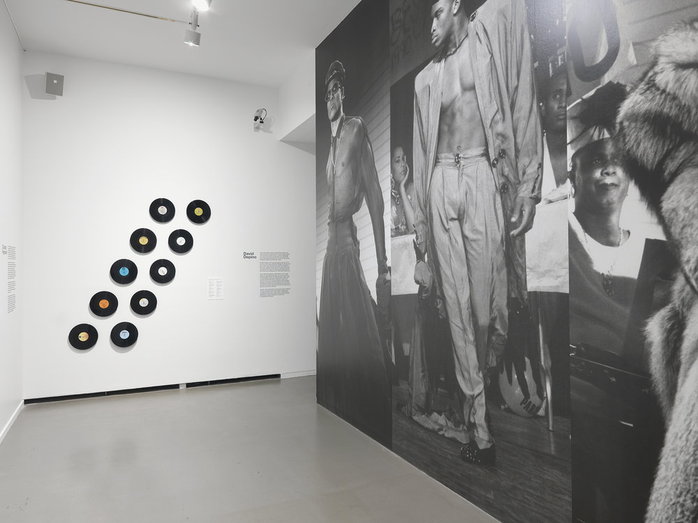 installation view of MashUp: The Birth of Modern Culture, exhibit at the Vancouver Art Gallery, February 20 to June 12, 2016