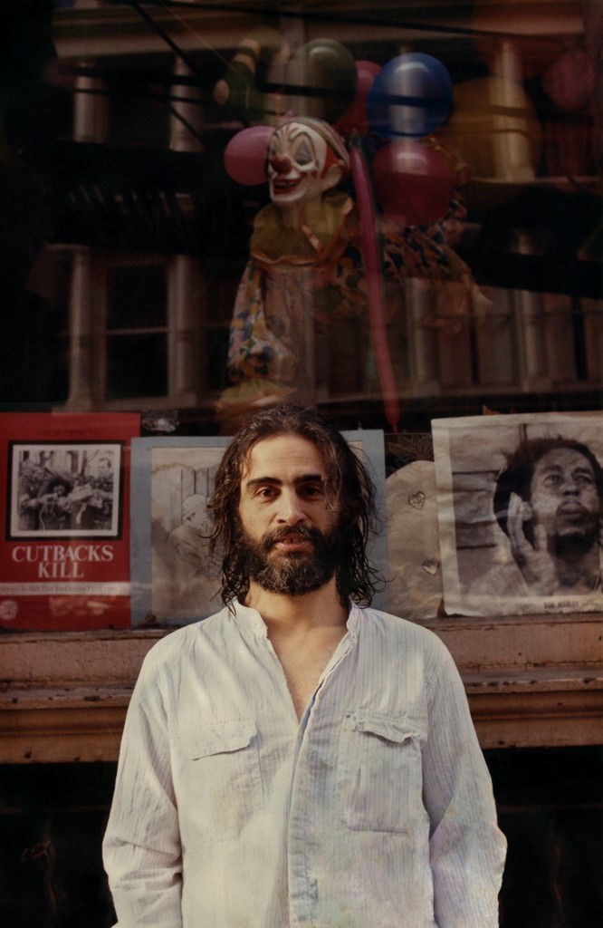 David Mancuso outside Prince Street Loft, New York, 1988. Photo by Pat Bates