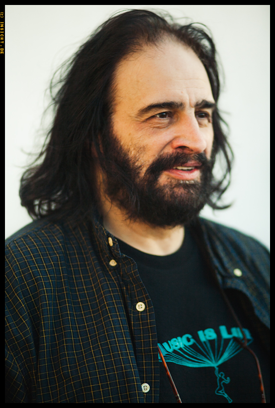 David Mancuso in London 2007. Photo by Tomas Borbás http://www.insicht.de/