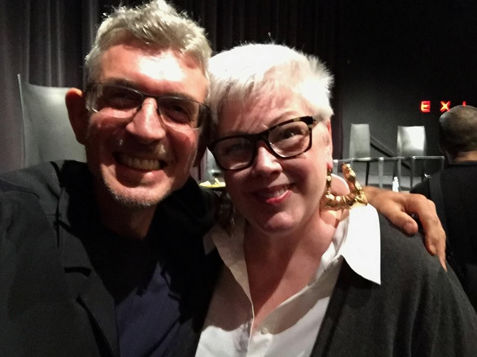 Me and the wonderful Monica Lynch after the screening. I loved interviewing Monica, one of the unsung heroes of the era, and it was wonderful to meet her for the first time at the launch..jpg