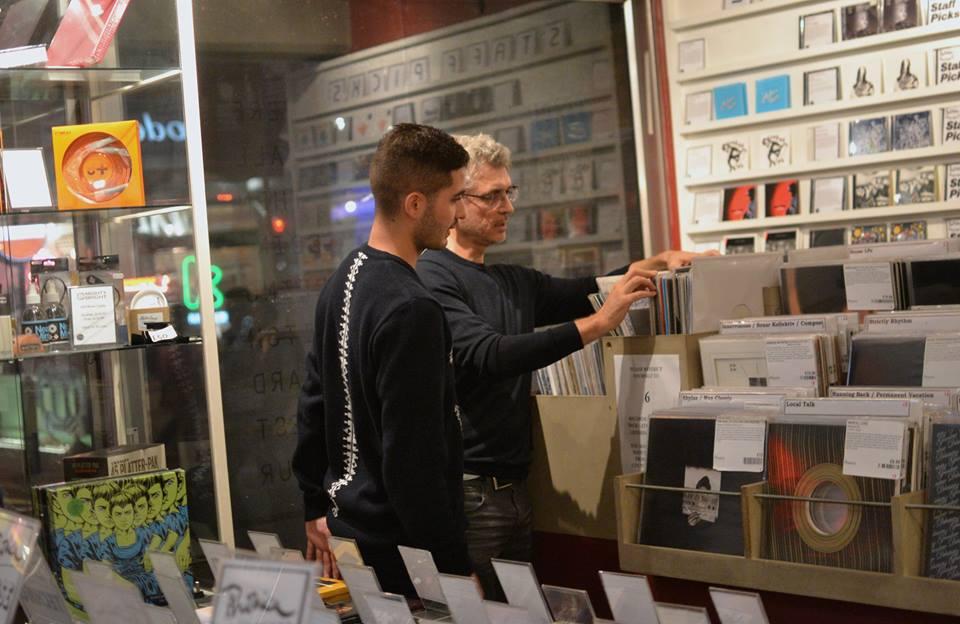 Phonica Records, London. Photograph: Elli Michail.