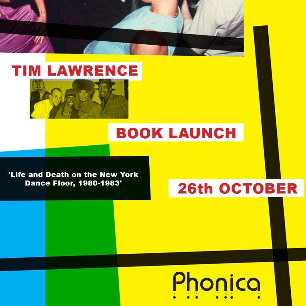 Phonica Records, London: Flyer.