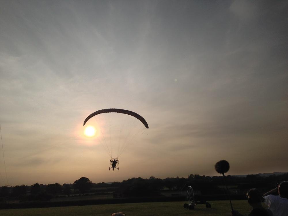 vélo parachute