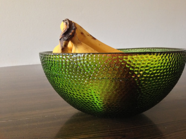 One of the thrift shop finds that I have adopted into my home. I love this bowl!