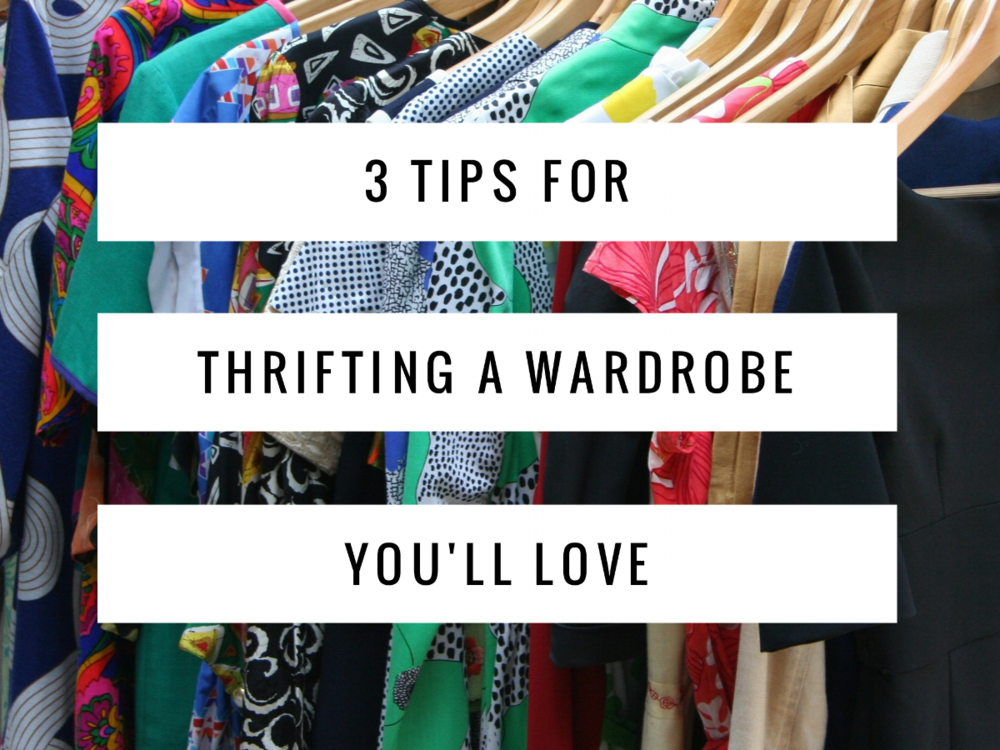 clothes thrift shopping tips