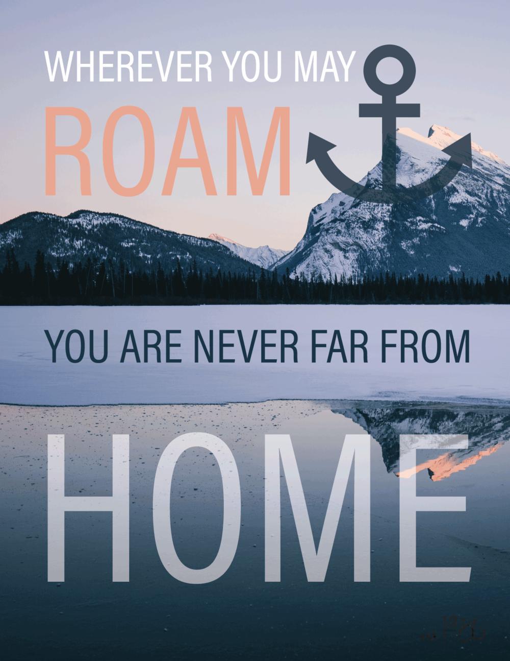 Roam Home Poster
