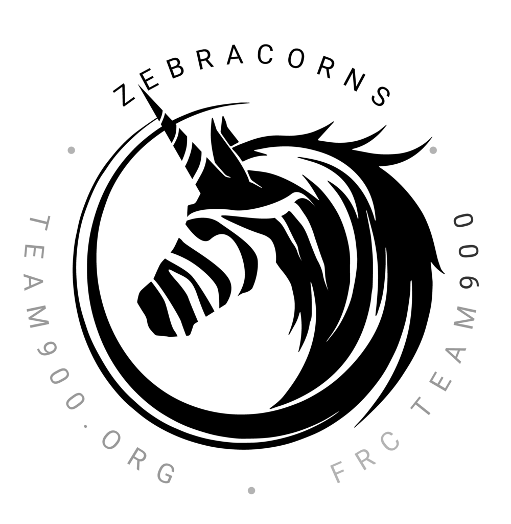 Team900 Zebracorns - Stickers