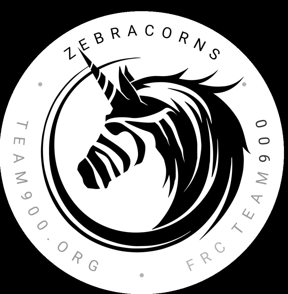 Team900 Zebracorns - Stickers