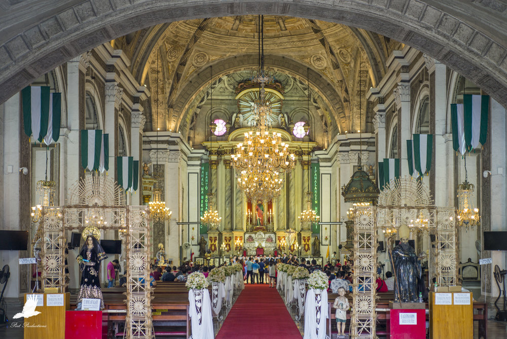 San Agustin Church (the second oldest church in Philippines) - During a wedding