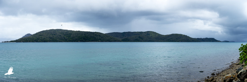 A simple panorama taken while walking around Daydream Island