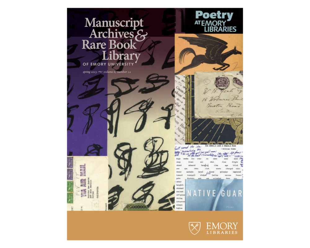 Introduction to a promotion of rare book of poetry in MARBL.