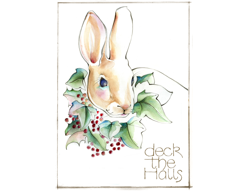 HolidayCards-rabbitDeckHallsstanislawakodman.jpg