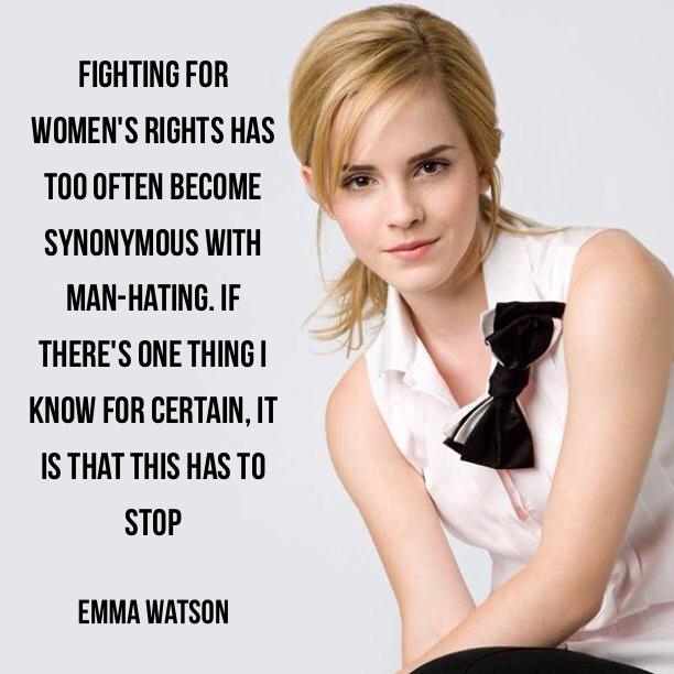 60 Empowering Emma Watson Quotes Quotiful Custom Women's Rights Quotes