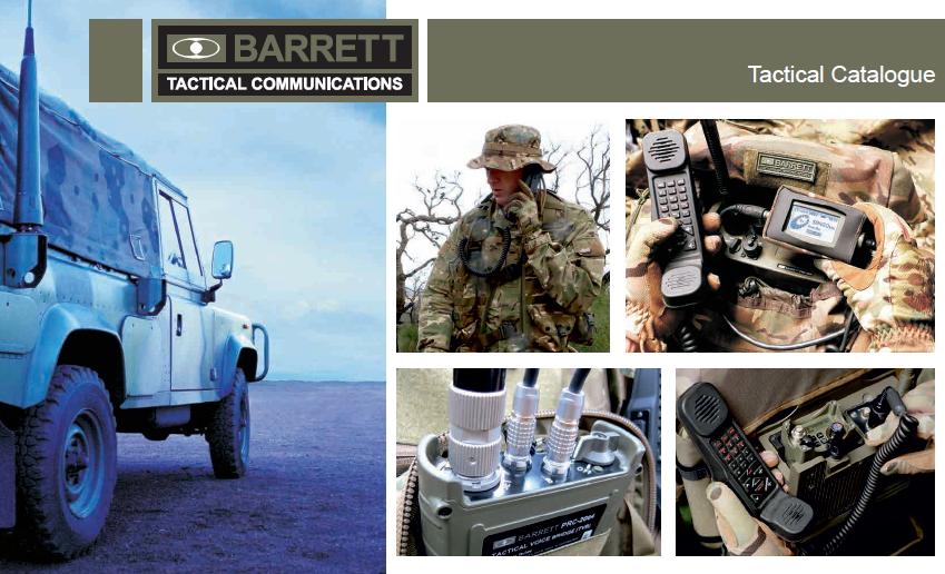 Tactical Communications Catalogue