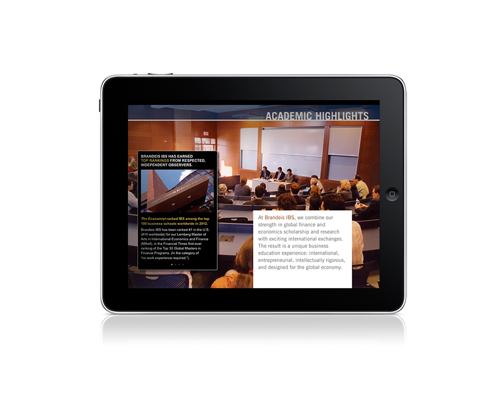 Brandeis IBS ibook