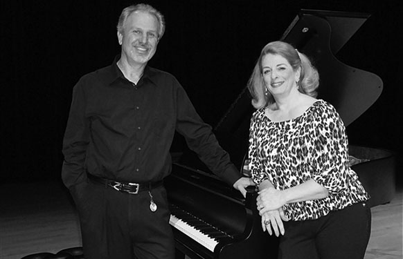 Ellen Ciompi with pianist Glenn Mehrbach