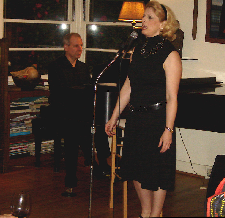 Glenn Mehbach (piano), Ellen Ciompi (vocals)