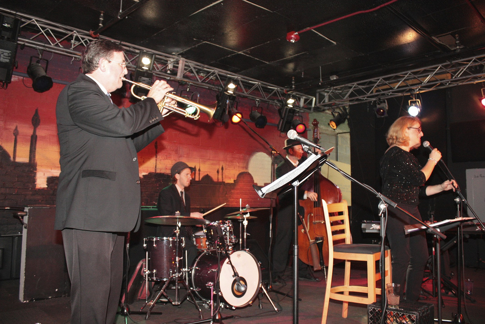Jim Ketch (trumpet), Steve Coffman (drums), Ben Palmer (bass), Ellen Ciompi (vocals)