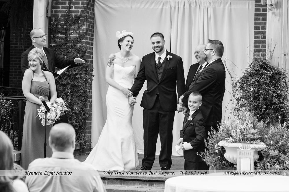 Amanda and Tim Wedding at the Doubletree hotel in south park, Kenneth Light Studios and Sherri Claypoole Films, your Wedding Specialists