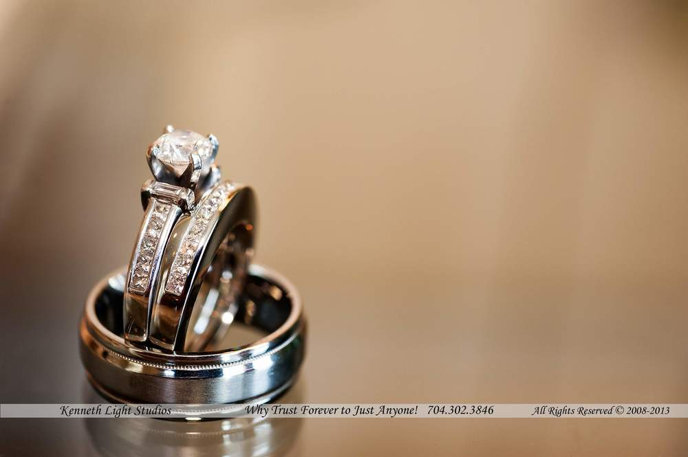 Ring shot from the Whitmore Wedding at the Cedarwood Country Club