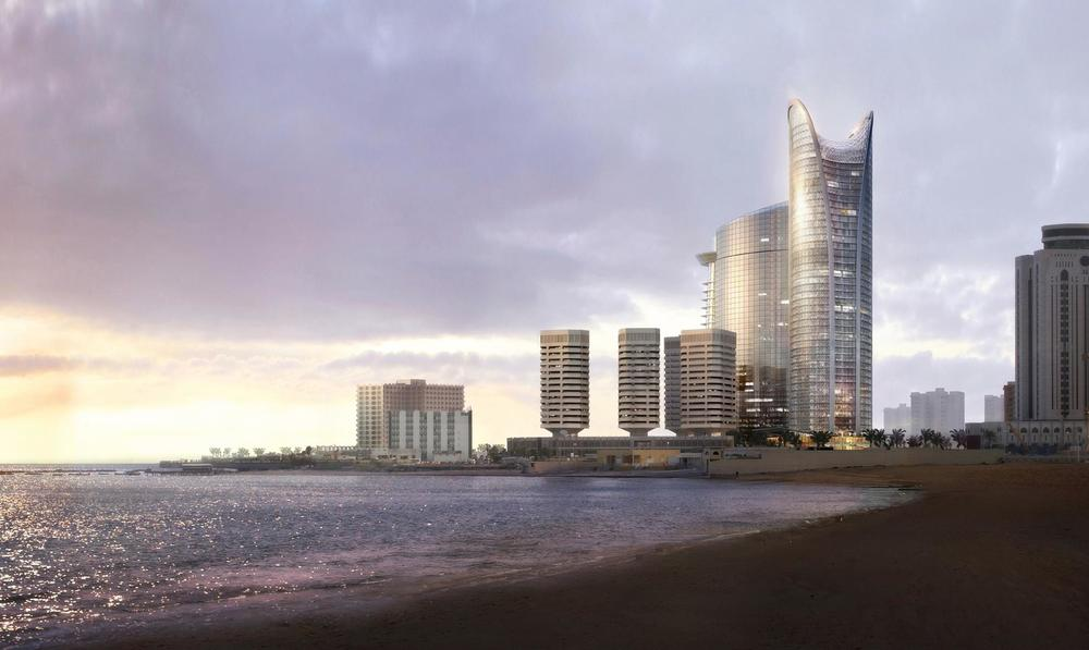 WKK Tripoli Tower 4 sunset.jpg