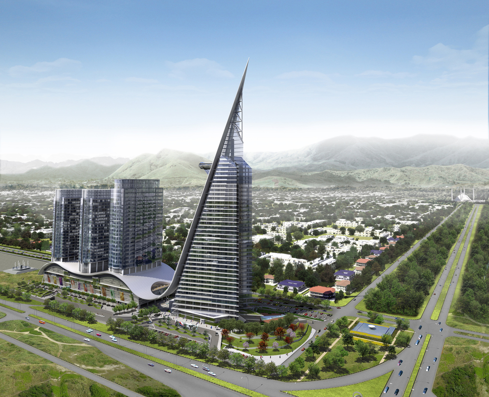 WKK Architects Centaurus, Islamabad, View2.jpg