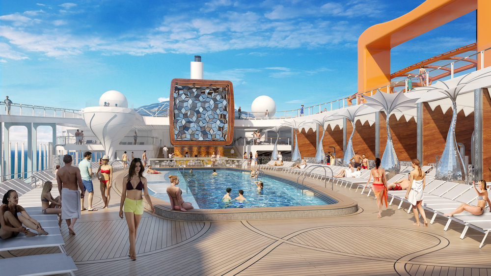 Celebrity EDGE Pool Deck 2