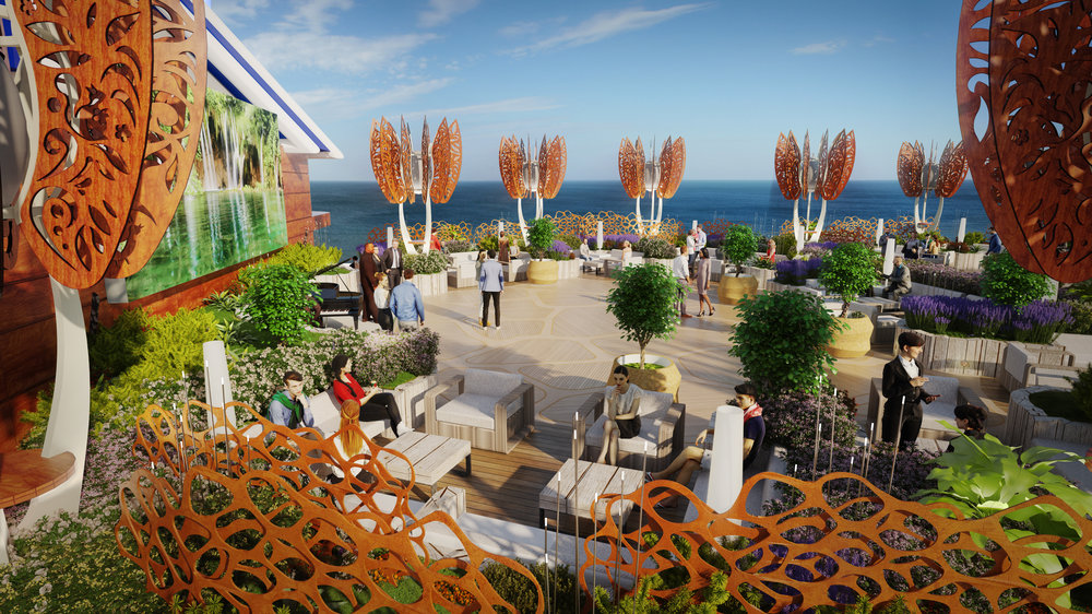 Celebrity EDGE Roof Top Garden 2