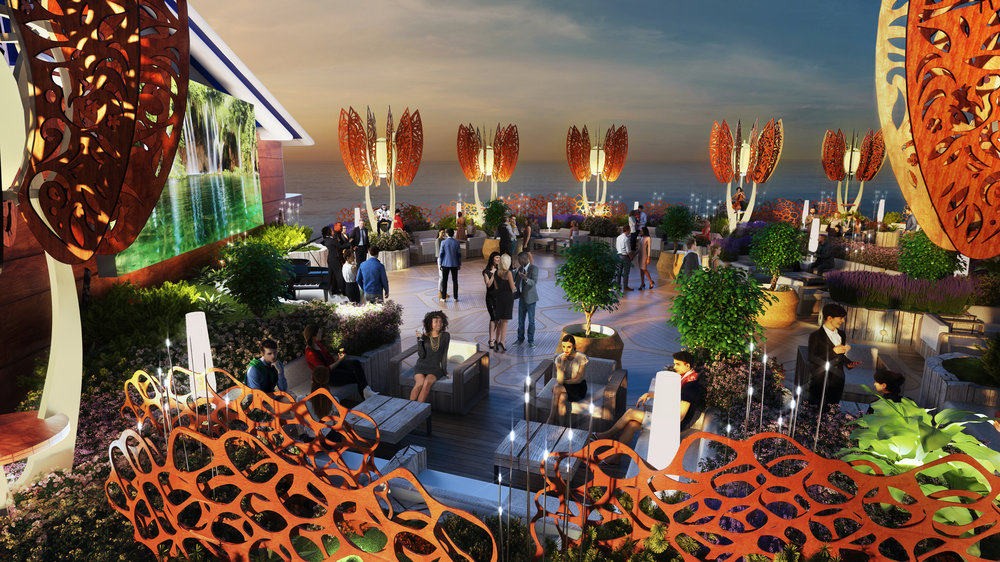 Celebrity EDGE Roof Top Garden 3