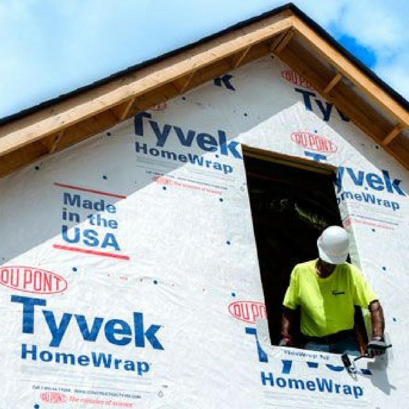 DuPont Tyvek®  homewrap