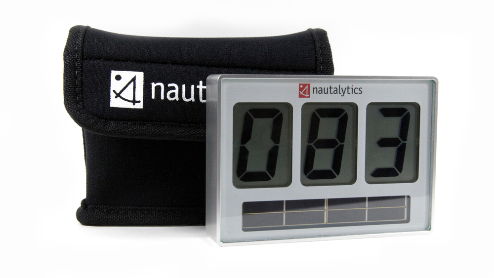 Nautalytics  |  alloy compass with case
