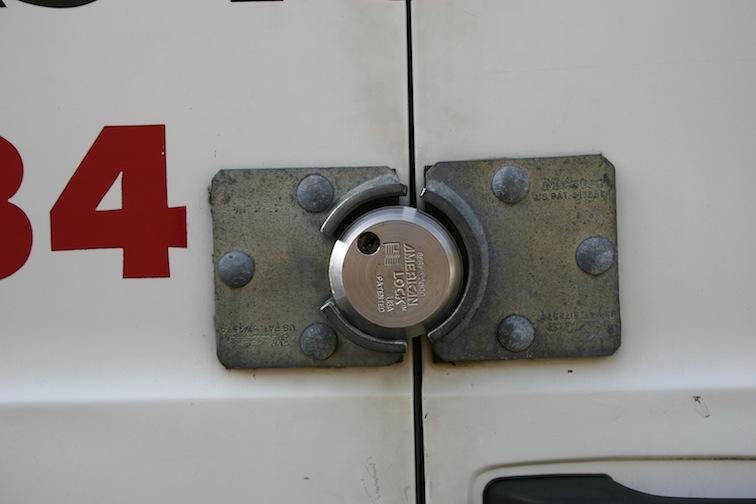 Heavy Duty Van Lock