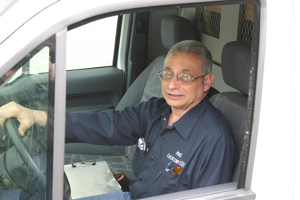 Joe in truck.JPG