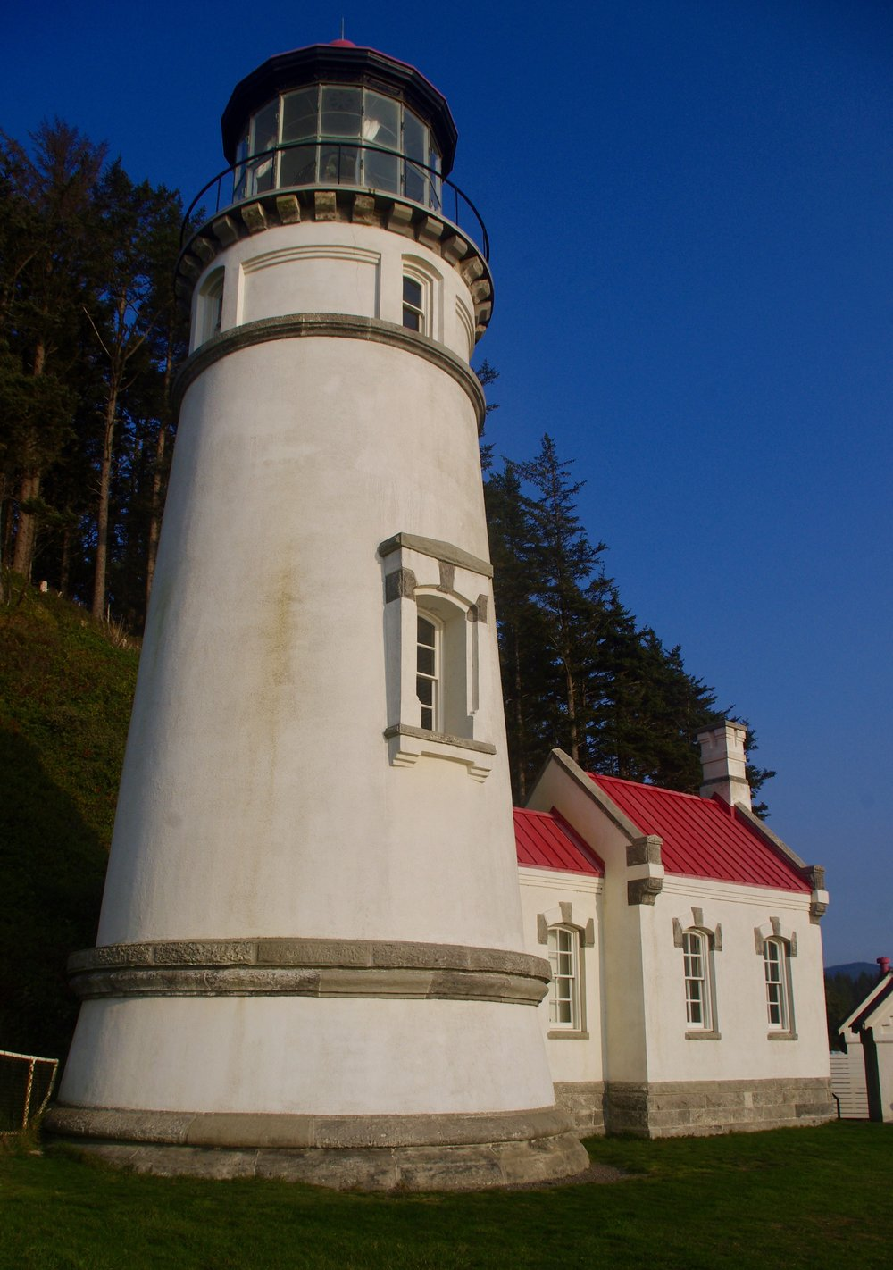 Here is the lighthouse…