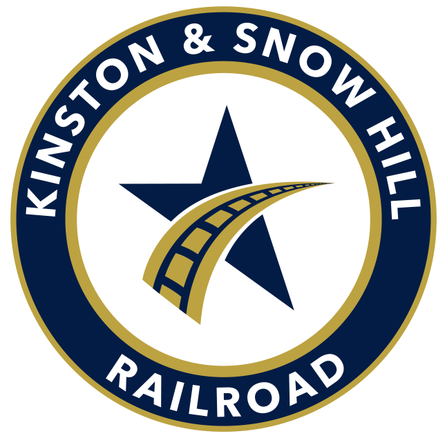 The Kinston & Snow Hill Railroad logo.