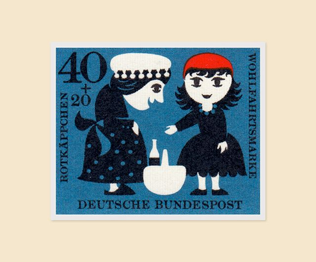 I'm not saying these two adorable German stamps are about to send me down an inescapable rabbit hole of stamp collecting, but I'm not NOT saying that either.