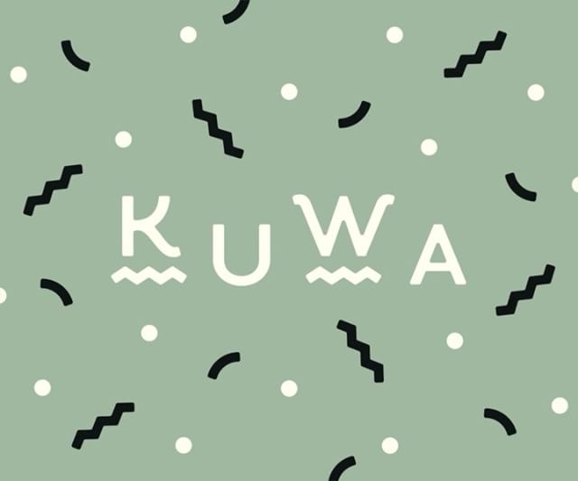 I'm excited to finally share this! @kuwaworks and I will be sharing a booth at @thehalfmoonmarket, so with a week to go we're officially rolling out her new branding. Expect more goodies down the line, but for now here's a fun li'l animation for ya (and go follow her for that good good marbling content) 〰️〰️〰️