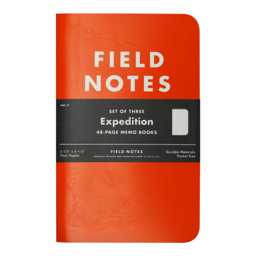Field Notes Expedition 3Pack Cedarpass Creative – Field Note