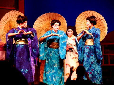 The Mikado. University of Michigan Gilbert and Sullivan Society 2011.