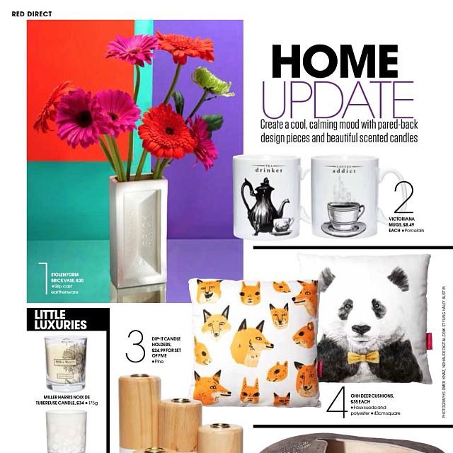 Red Magazine -August 2013