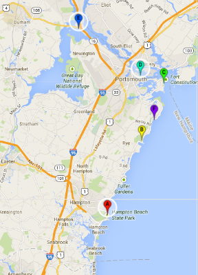 Whats in a New Hampshire tidal pool Feed the data monster