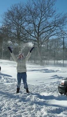 Wee! Snow!