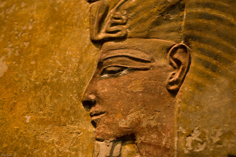 Ancient Egyptians used kohl around their eyes to create the signature look we all know. Photo credit: Marcus Crafter
