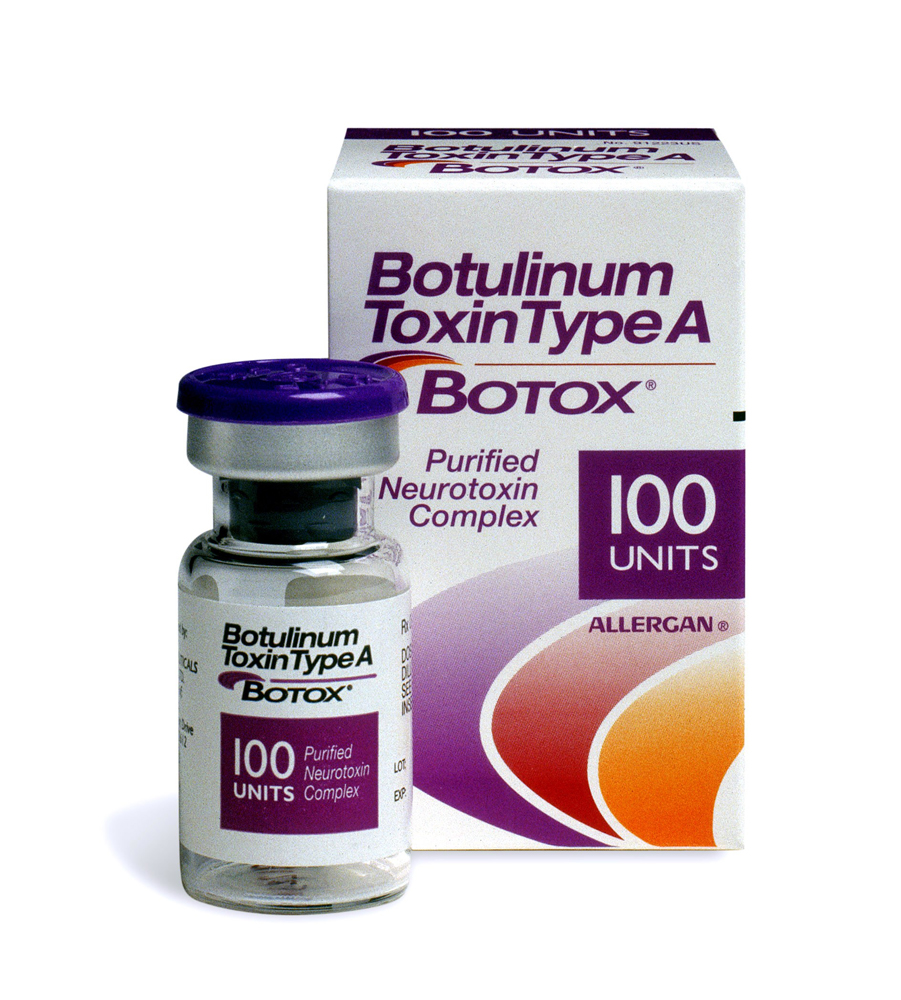 An example of Botox being sold commercially  to combat severe sweating . At least they acknowledge they are selling a toxin.