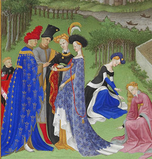 Detail from Très Riches Heures du Duc de Berry (The Very Rich Hours of the Duke of Berry), c. 1410