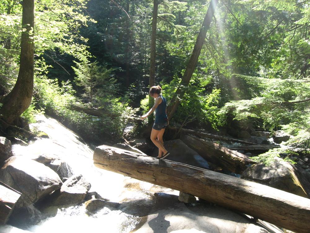 Shannon Falls, British Columbia Canada.