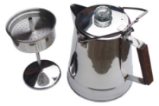 The setup of a percolator