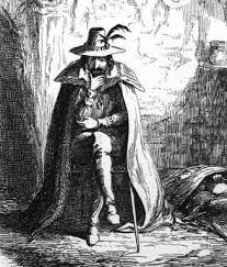 The infamous Guy Fawkes ponders his devilish plot. Image source: Ainsworth, William Harrison. Guy Fawkes, or The Gunpowder Treason. 1840.