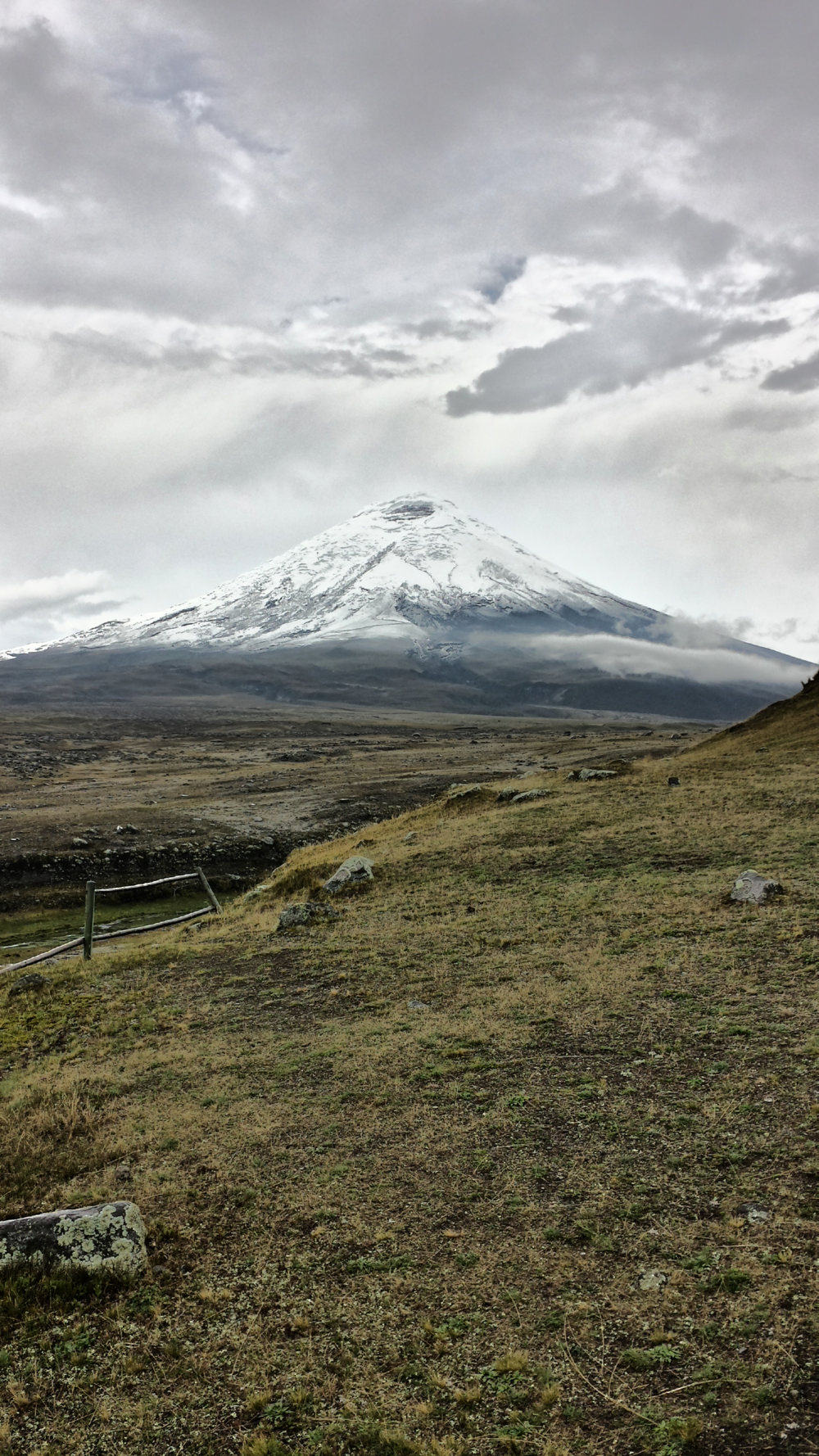 Cotopaxi. (Photo taken by Juan Diaz.)